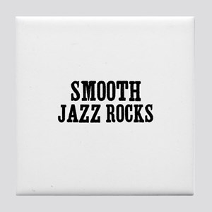 Smooth Jazz Rocks Tile Coaster