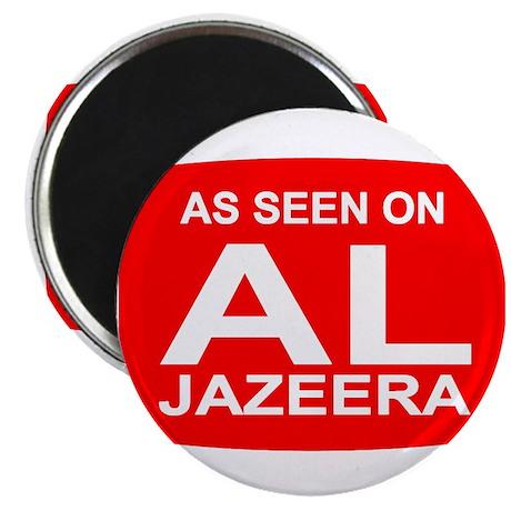 """As seen on Al Jazeera 2.25"""" Magnet (100 pack)"""