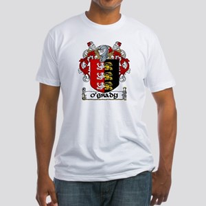 O'Grady Coat of Arms Fitted T-Shirt