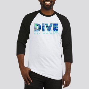 Dive St. Lucia Baseball Jersey