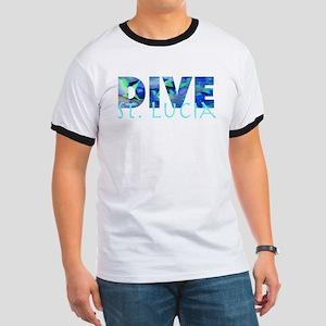 Dive St. Lucia Ringer T