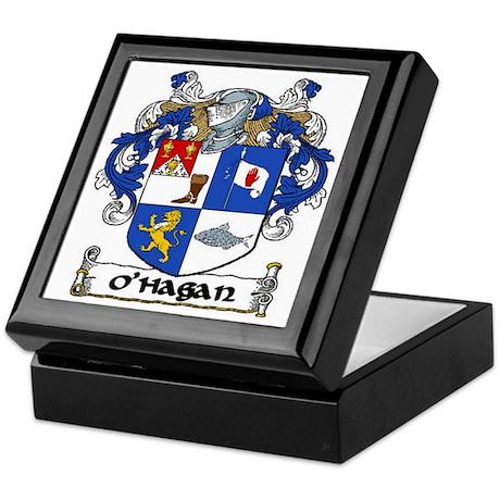 O'Hagan Coat of Arms Keepsake Box