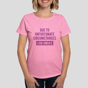 I Am Awake Women's Dark T-Shirt