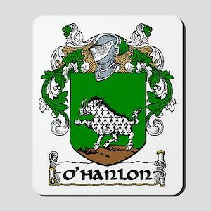 O'Hanlon Coat of Arms Mousepad