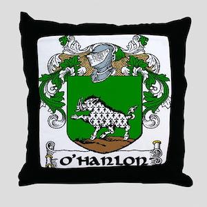 O'Hanlon Coat of Arms Throw Pillow