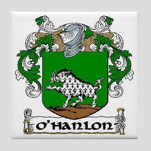 O'Hanlon Coat of Arms Ceramic Tile