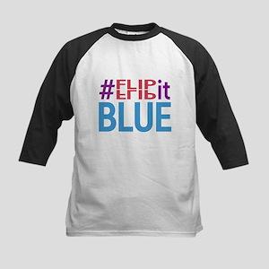 #FlipItBlue in 2018 Baseball Jersey