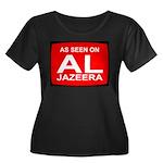 As seen on Al Jazeera Women's Plus Size Scoop Neck