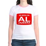 As seen on Al Jazeera Jr. Ringer T-Shirt