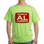 As seen on Al Jazeera Green T-Shirt