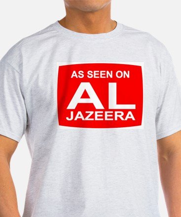 As seen on Al Jazeera T-Shirt