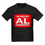 As seen on Al Jazeera Kids Dark T-Shirt