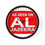 As seen on Al Jazeera Wall Clock