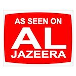 As seen on Al Jazeera Small Poster
