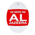 As seen on Al Jazeera Oval Ornament