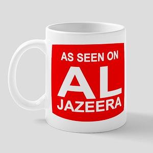 As seen on Al Jazeera Mug