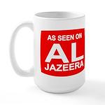 As seen on Al Jazeera Large Mug