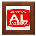 As seen on Al Jazeera Framed Tile