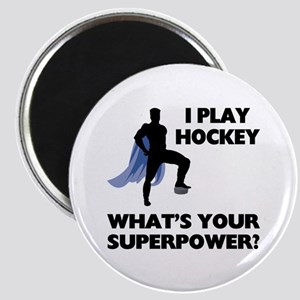 Hockey Superhero Magnet