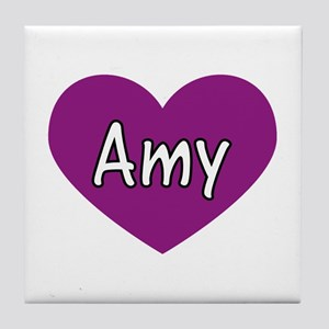Amy Tile Coaster