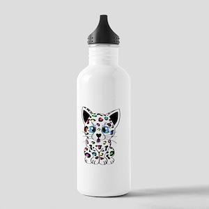 Rainbow Leopard Cub Stainless Water Bottle 1.0L