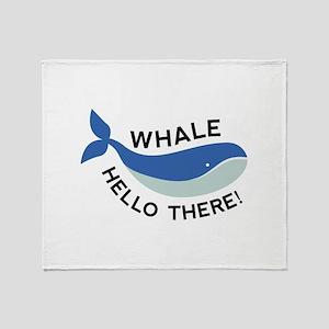 Whale Hello There! Stadium Blanket