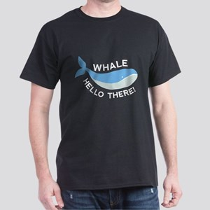 Whale Hello There! Dark T-Shirt