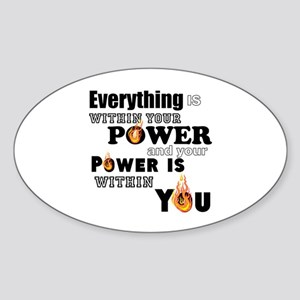 You are POWERFUL Sticker