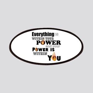 You are POWERFUL Patch