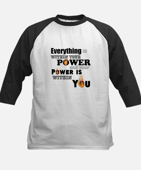You are POWERFUL Baseball Jersey