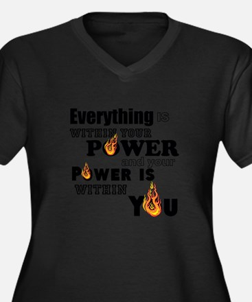 You are POWERFUL Plus Size T-Shirt