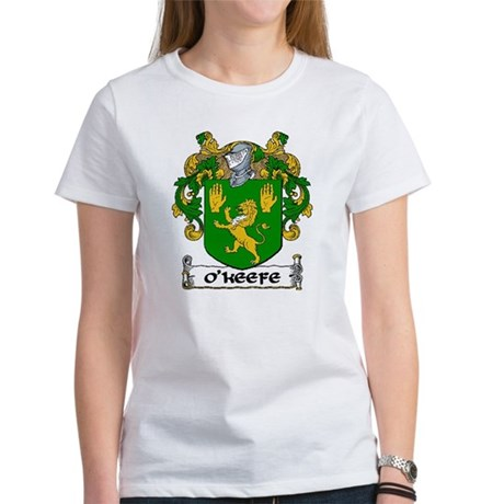 O'Keefe Coat of Arms Women's T-Shirt