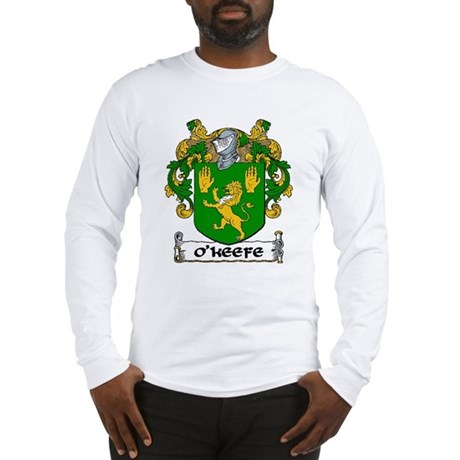 O'Keefe Coat of Arms Long Sleeve T-Shirt
