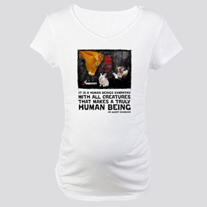 Animal Liberation -Schweizer Maternity T-Shirt