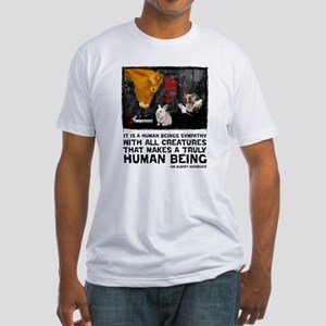 Animal Liberation -Schweizer Fitted T-Shirt