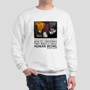 Animal Liberation -Schweizer Sweatshirt