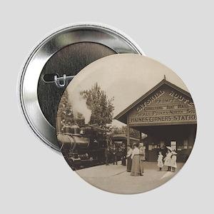 Catskill Mountain Railway Station Button