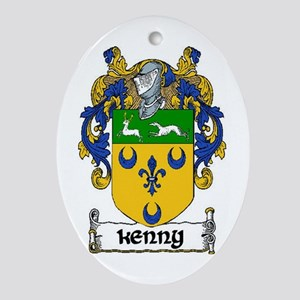 Kenny Coat of Arms Keepsake Ornament
