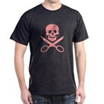 Pink Jolly Cropper Dark T-Shirt