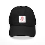 Pink Jolly Cropper Black Cap