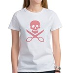 Pink Jolly Cropper Women's T-Shirt