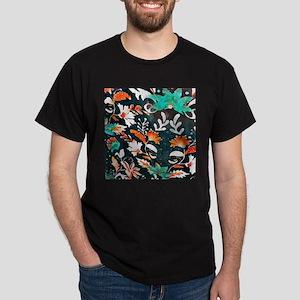 wildflower watercolor scandinavian floral T-Shirt