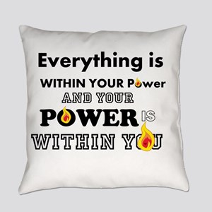 You are POWERFUL Everyday Pillow