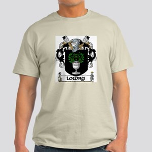Lowry Coat of Arms Light T-Shirt