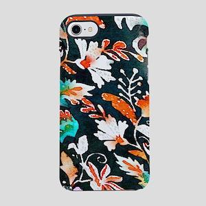 wildflower watercolor scandi iPhone 8/7 Tough Case