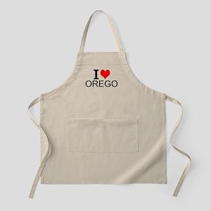 I Love Oregon Apron