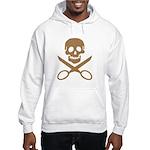 Mocha Jolly Cropper Hooded Sweatshirt