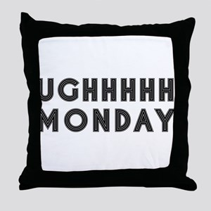 Monday Throw Pillow