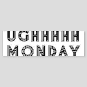 Monday Bumper Sticker