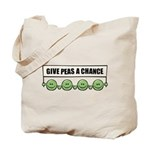 Give Peas A Chance Tote Bag